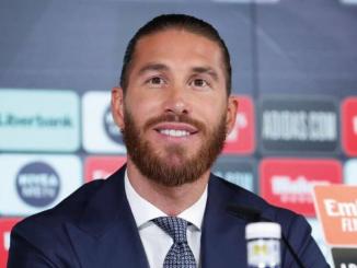 PSG Sergio Ramos