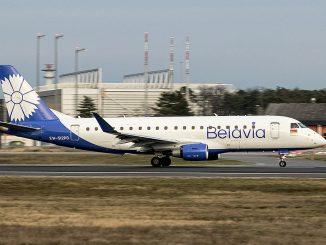 Avión Belavia