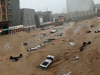 China: las lluvias torrenciales dejan 18 muertos y 200.000 desplazados