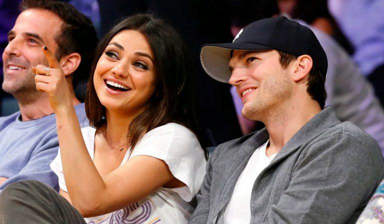 Ashton Kutcher y Mila Kunis hijos