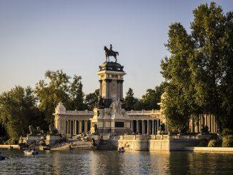 El retiro Madrid