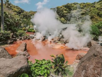 Balnearios naturales: los «nueve infiernos» de Beppu en Japón