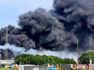 Alemania: fuerte explosión en una planta química en Leverkusen