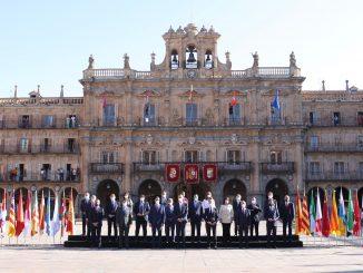 Pedro Sánchez preside la Conferencia de Presidentes sin Aragonès