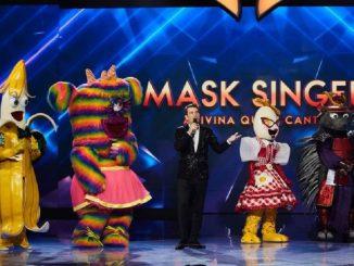 El ganador y el resto de desenmascarados en la final de «Mask Singer»