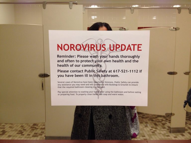 Brote de norovirus en Reino Unido