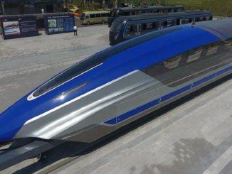 China, así es el nuevo tren de levitación magnética que alcanza los 600 km/h