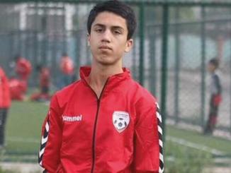 Murió Futbolista afgano