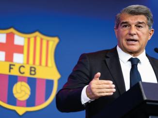 FC Barcelona Joan Laporta