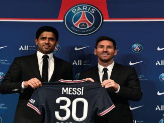 Presentación Lionel Messi PSG