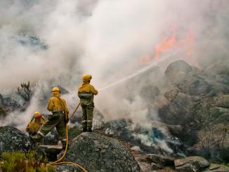 El incendio de Navalacruz, el mayor incendio del año en España