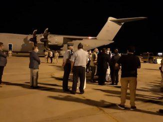 Evacuados Afganistán