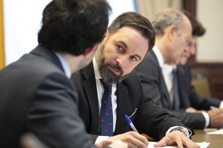 Santiago Abascal acogida de afganos