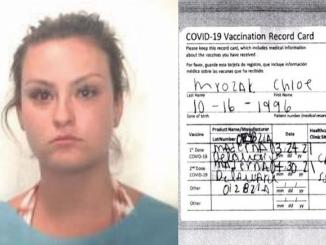 Fasificó Carnet de Vacunación Arrestada