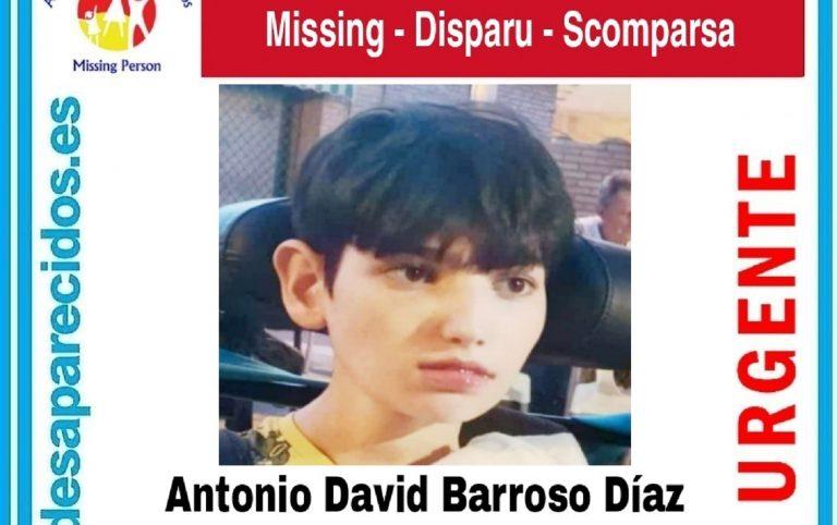 Morón, menor discapacitado desaparecido