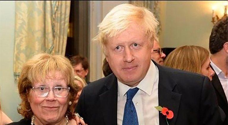 Fallece la madre del primer ministro británico Boris Johnson