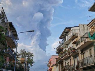 volcán etna erupción