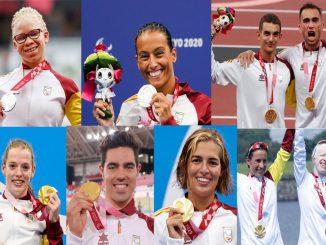 medallas de España en los paralímpicos