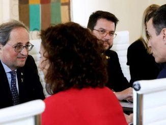 Sánchez, mesa de diálogo