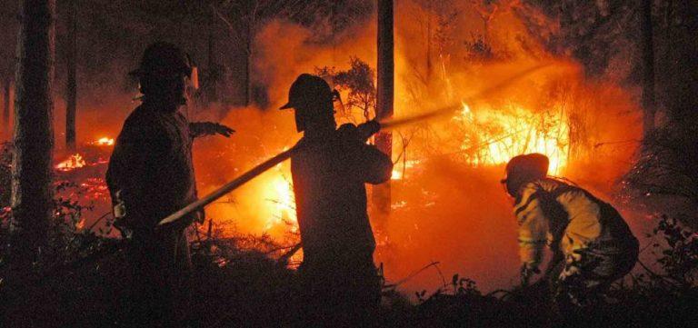Málaga, última hora del incendio en Sierra Bermeja