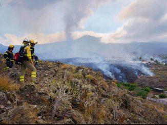 Volcán la Palma fase explosiva