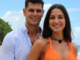 Alejandro y Tania nueva pareja en la 'Isla de las tentaciones 4'
