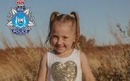 Cloe Smith de 4 años desapareció mientras dormía en una tienda de campaña