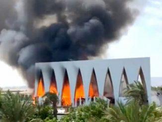 incendio egipto