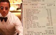 precios del restaurante de salt bae