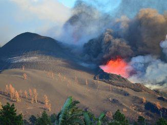 La nube azufre del volcán de La Palma alcanza El Caribe